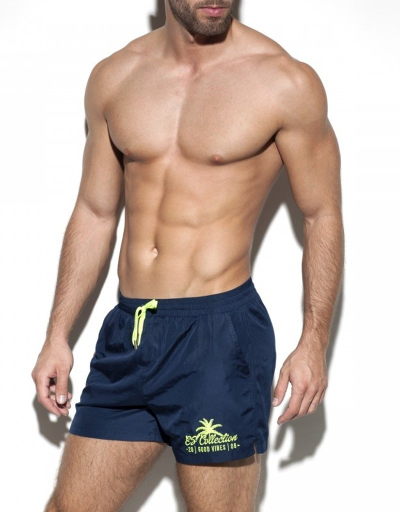 ES Collection 1922C09  -Basic boardshort Blauw