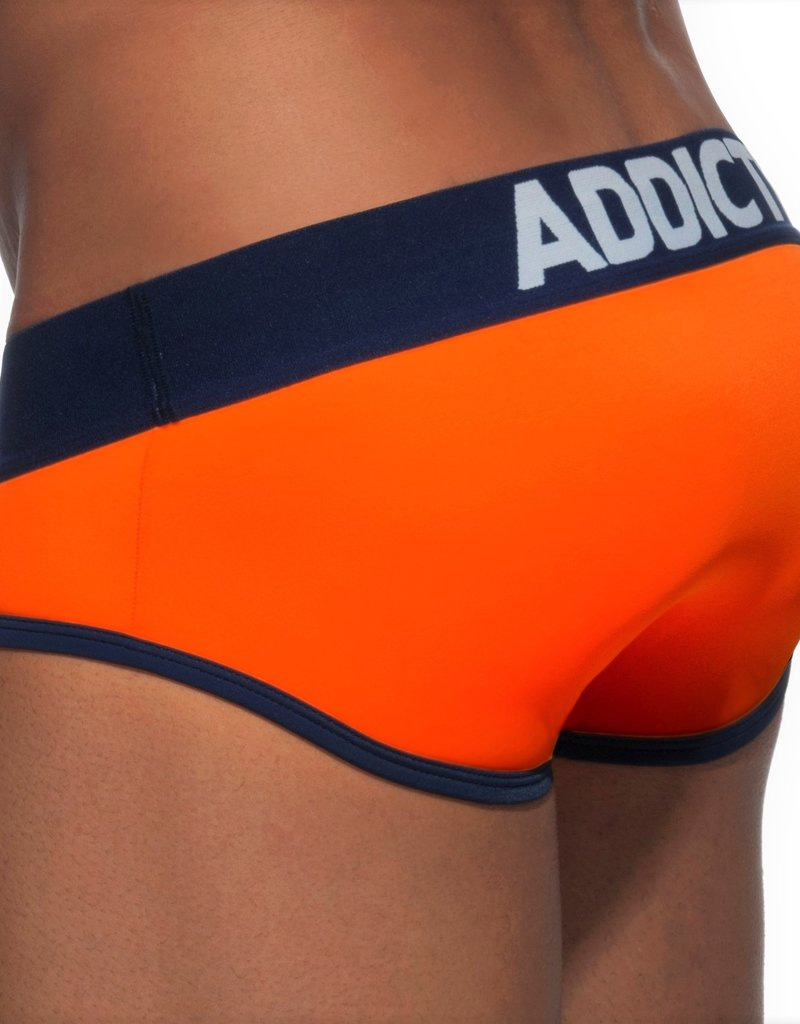 Addicted AD540C04 SWIMDERWEAR BRIEF ORANJE