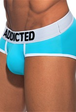 Addicted AD540C08 SWIMDERWEAR BRIEF BLAUW TURQUOISE