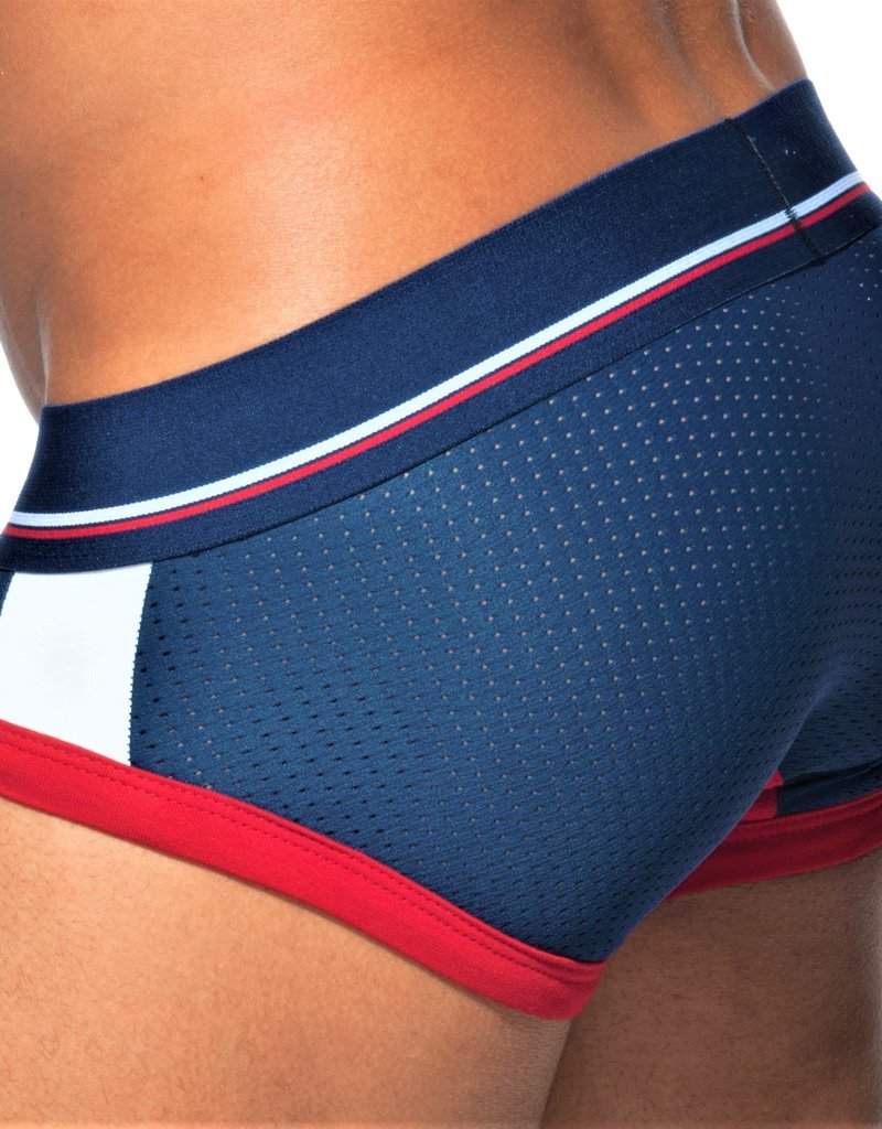 Addicted AD738C09  Sport Mesh Brief Marine Blue