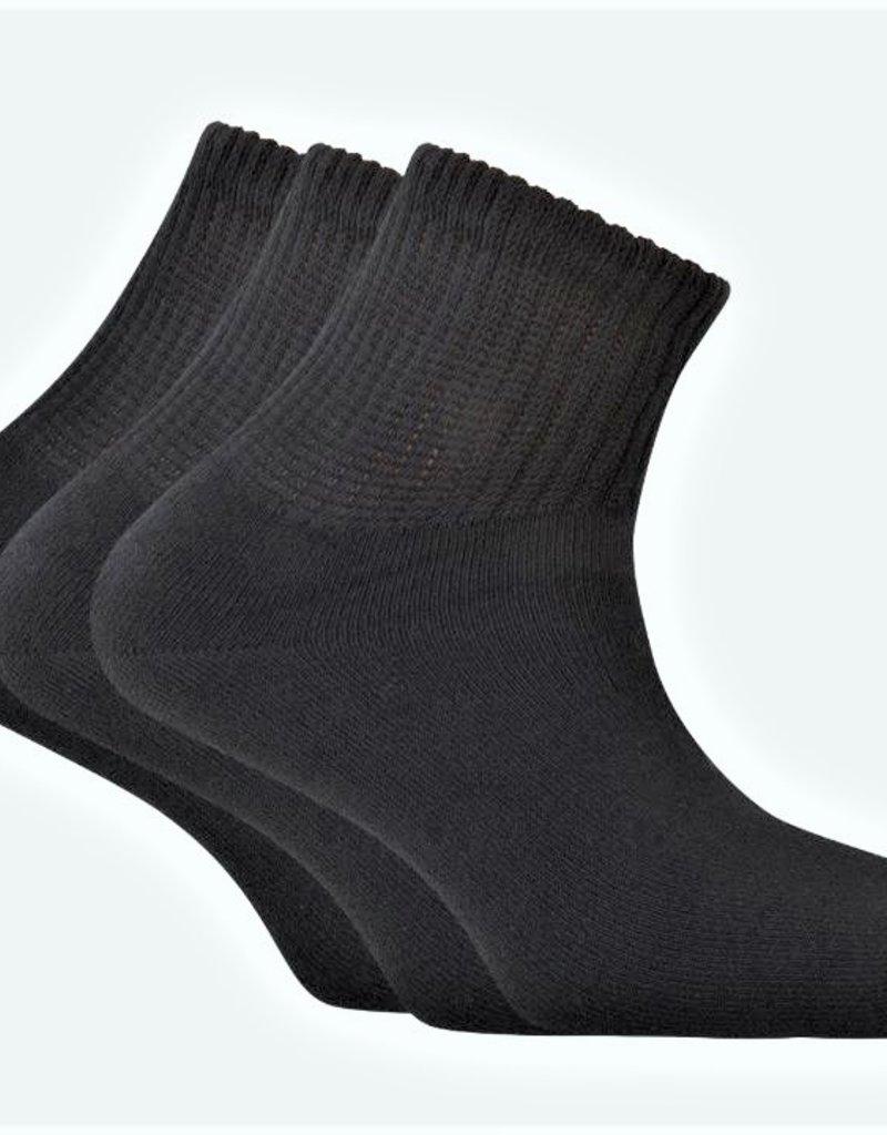 Punto Blanco 7490100c090 Pack de 3 calcetines de algodón - sport Basix