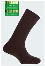 Punto Blanco 1353210-C090 Chaussettes en bambou - à côtes bord-côte ne serre pas