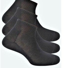 Punto Blanco Set van 3 sokken in effen katoen. Geribbelde rand