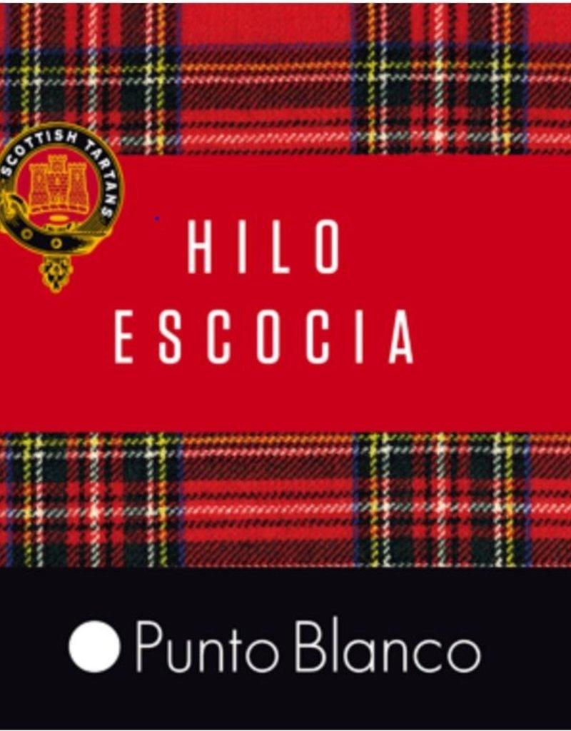 Punto Blanco 1346210 C090  Lisle yarn sock - ribbed