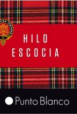 Punto Blanco 1342010C090 Calcetines de Hilo de Escocia - canalé Deodorant