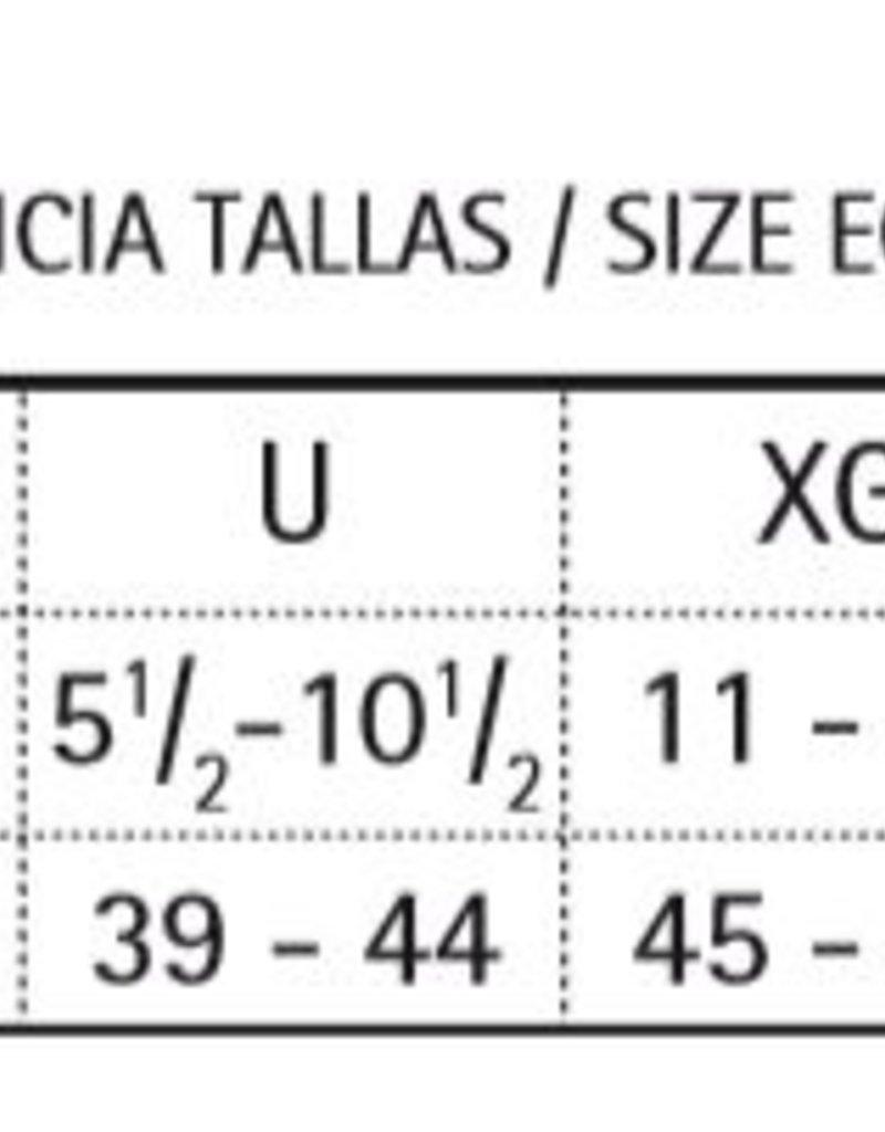 Punto Blanco 7903610C090 Calcetines de algodón - liso Ancho Especial