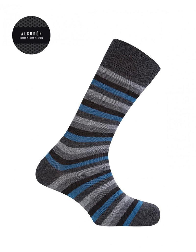 Punto Blanco 7303110-657 Calcetines de algodón cortos con rayas