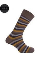 Punto Blanco 7303110-413 Calcetines de algodón cortos con rayas