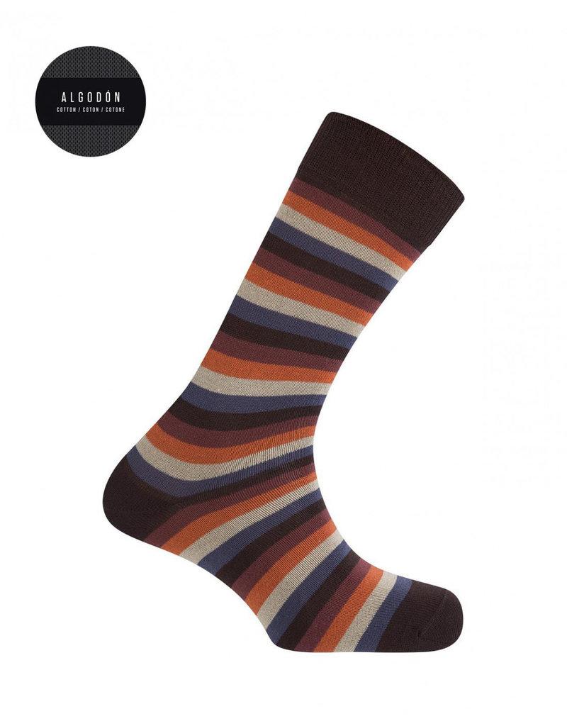 Punto Blanco 7303110-408 Calcetines de algodón cortos con rayas