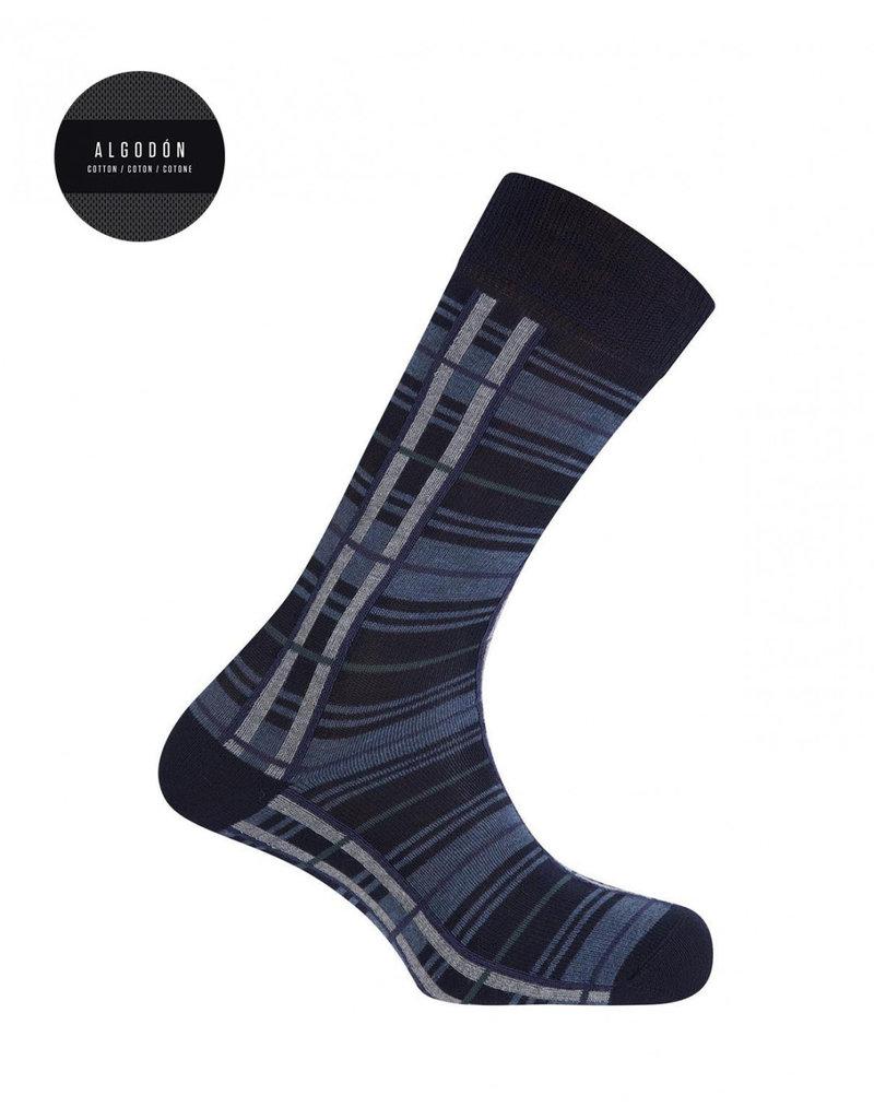 Punto Blanco  7303610-100 Katoenen sokken - carreaux