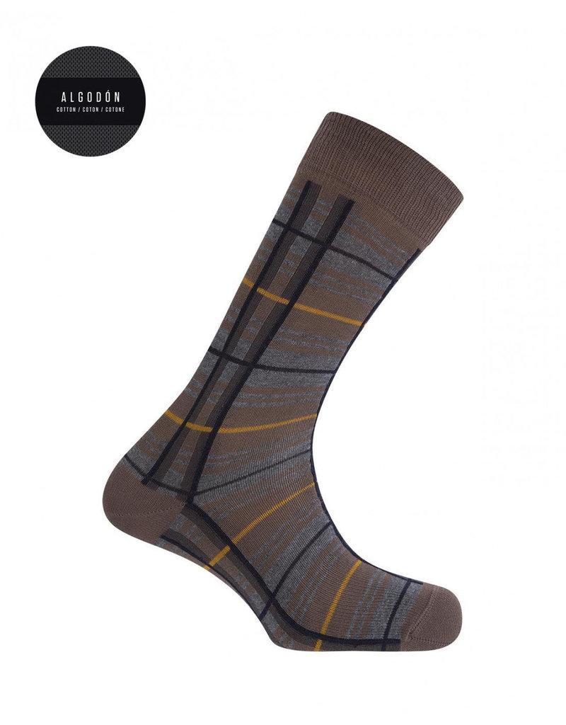 Punto Blanco  7303610-413 Chaussettes en coton - carreaux