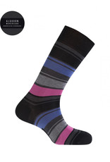 Punto Blanco 7495310-090  Mercerised cotton socks - stripes