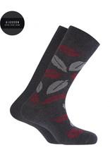 Punto Blanco 7495410-657 Chaussettes en coton - feuille et unie