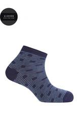 Punto Blanco 7496400-105 Socquettes en coton - pois et rayures