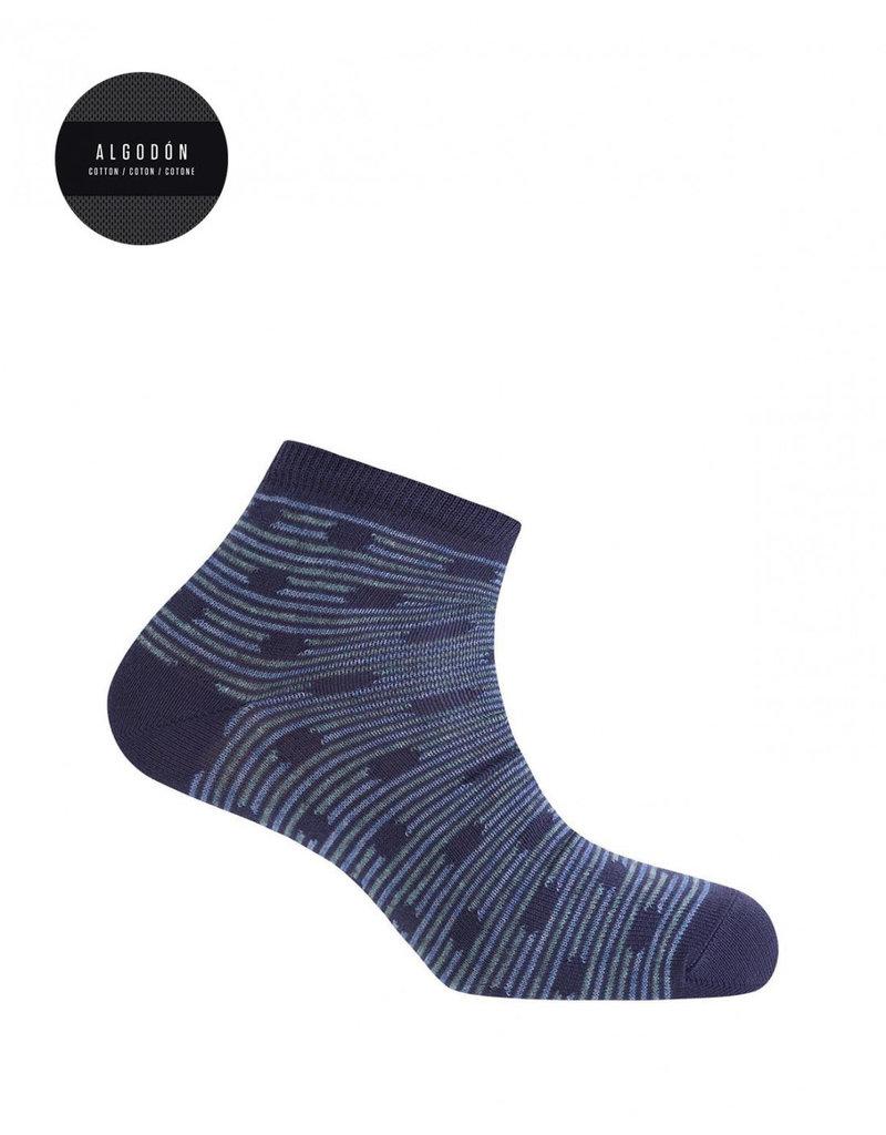 Punto Blanco 7496400-105 Katoenen sokken - mollen en strepen