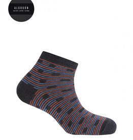 Punto Blanco Cotton socks - dots and stripes