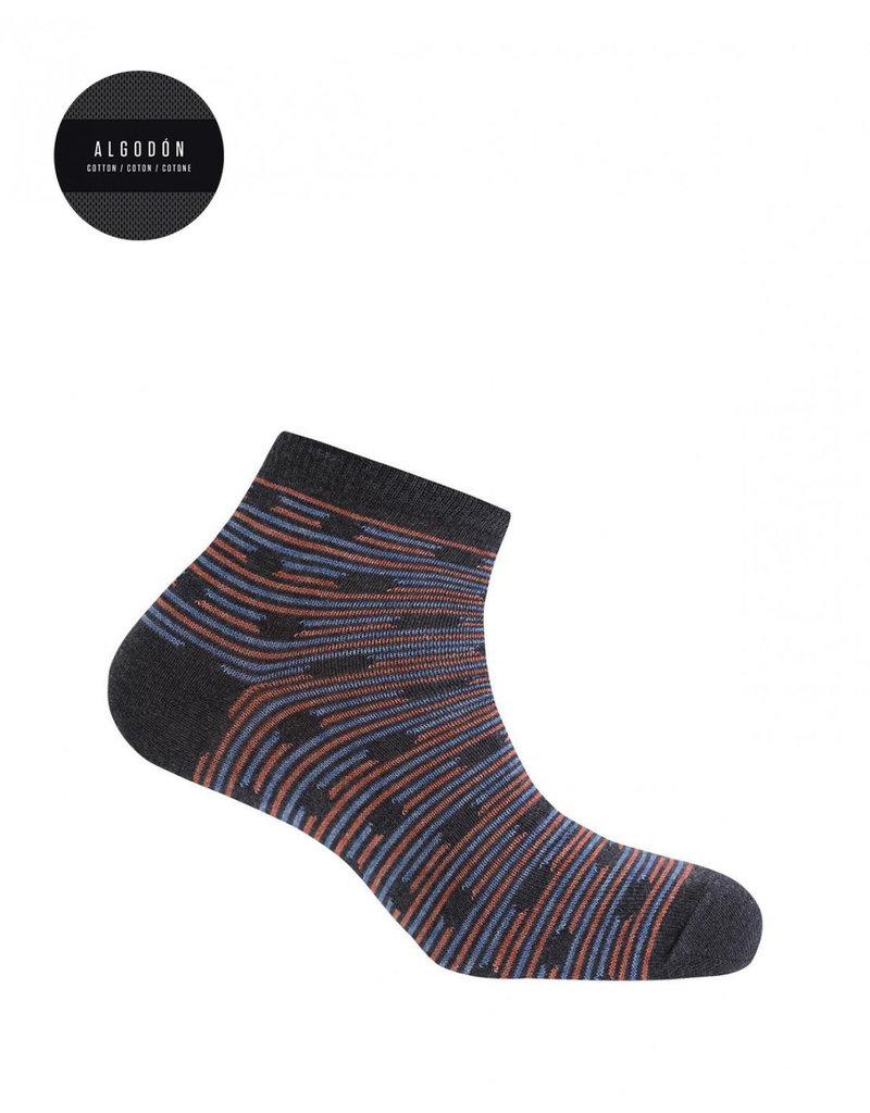 Punto Blanco 7496400-657 Katoenen sokken - mollen en strepen