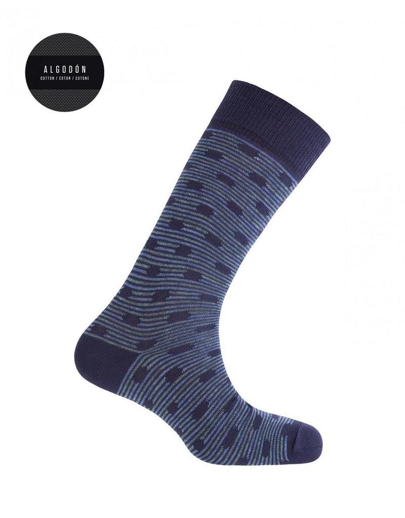 Punto Blanco 7496410-105 Katoenen sokken - mollen en strepen
