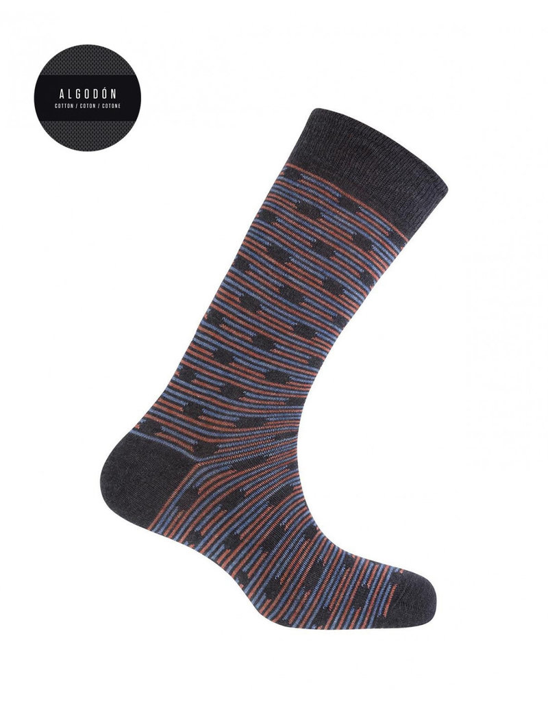 Punto Blanco 7496410-657 Cotton socks - dots and stripes