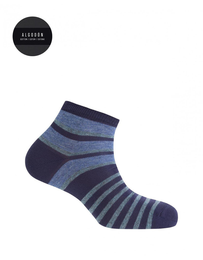 Punto Blanco 7496600-105 Gestreepte katoenen sokken