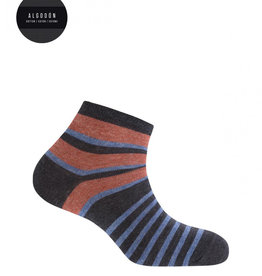 Punto Blanco Gestreepte katoenen sokken