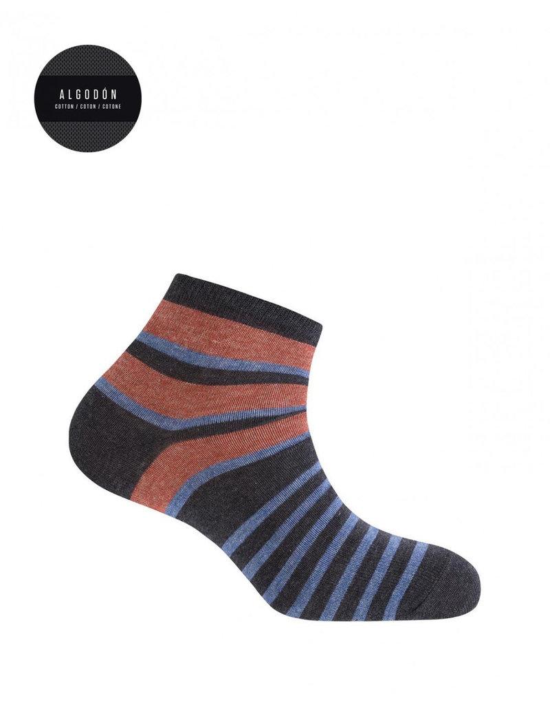 Punto Blanco 7496600-657 Gestreepte katoenen sokken