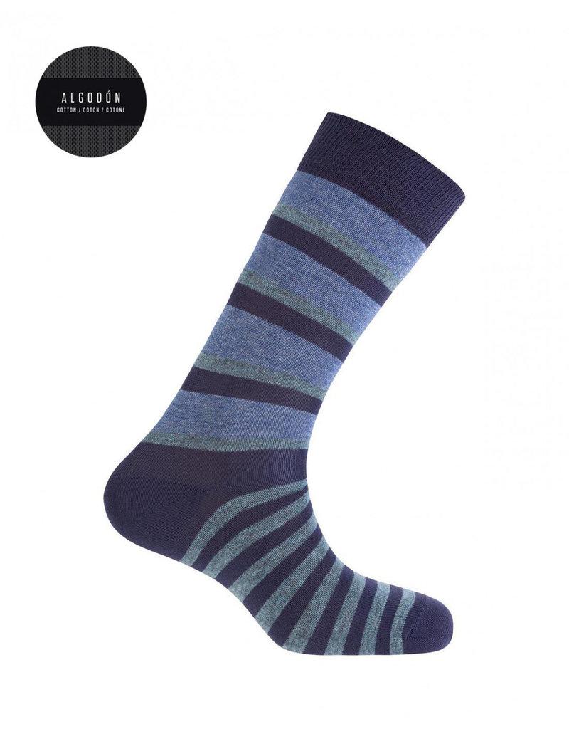 Punto Blanco 7496610-105 Korte gestreepte katoenen sokken