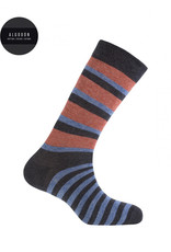 Punto Blanco 7496610-657 Korte gestreepte katoenen sokken