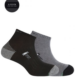 Punto Blanco 2 cotton sport socks - semi plain