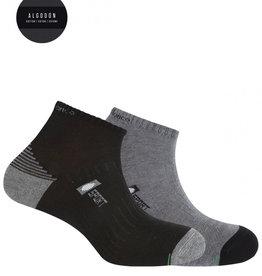 Punto Blanco Pack de 2 chaussettes en coton sportives- demi unie