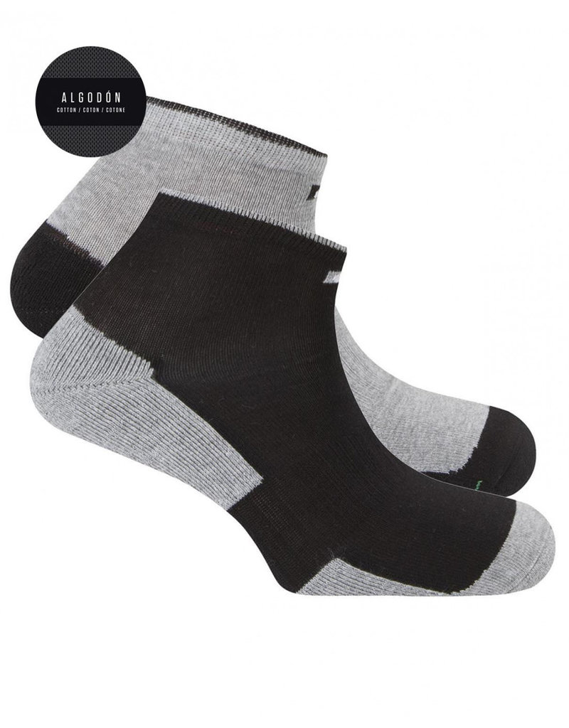 Punto Blanco 7496300-580 2 pack sport cottons socks antifungal and antibacterial effect