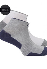 Punto Blanco 7496300-581 2 pack sport cottons socks antifungal and antibacterial effect