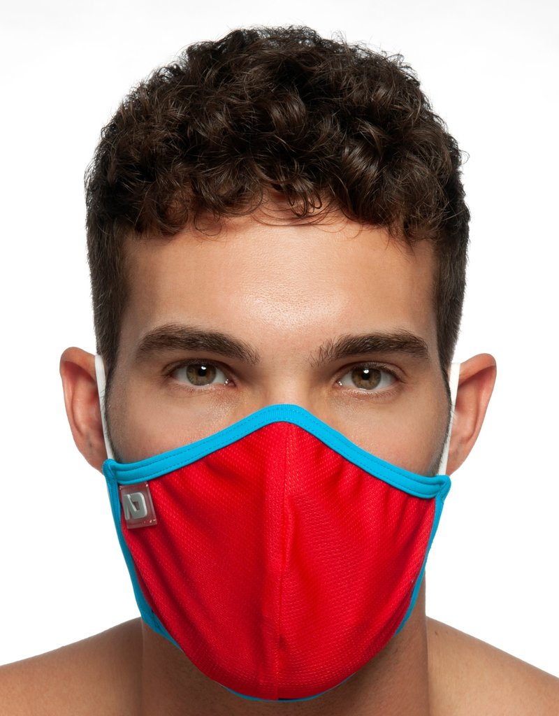 Addicted AC106 Spider Mask C06 Red