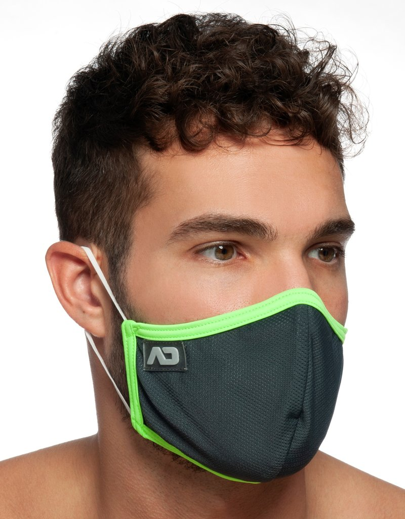 Addicted AC106 Spider Mask C15 Charcoal