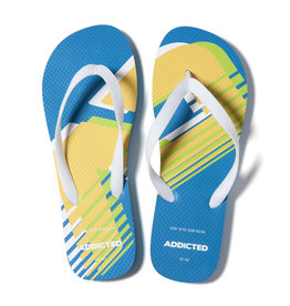 Addicted AD796 AD LOGO FLIP FLOP