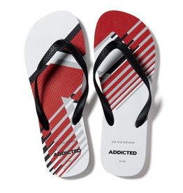 Addicted AD796 AD LOGO FLIP FLOP BLANCO