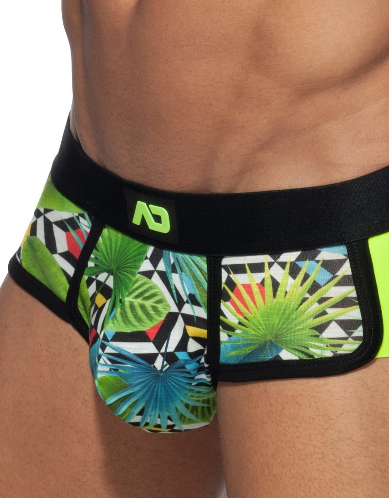 Addicted AD824  Parrots Double side Brief