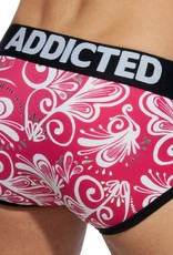 Addicted AD905 Cashmere Swimderwear Brief Fuchsia - push up