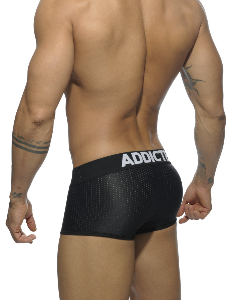 Addicted AD477 3Pack Mesh Boxer Push Up  Blanco, Azul, Negro push up