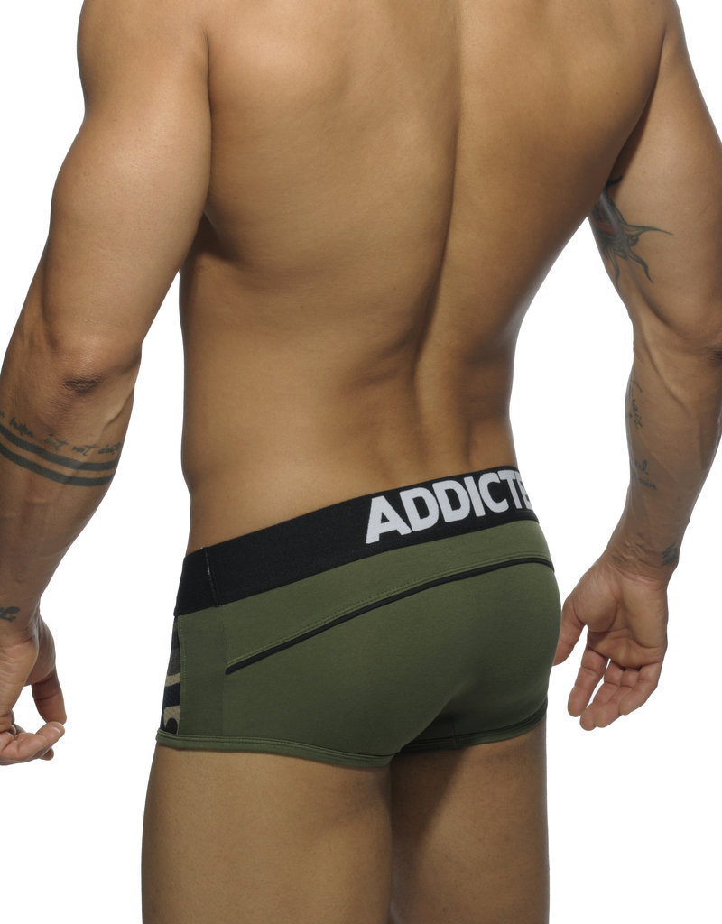 Addicted AD431 Combi Mesh Boxer Kaki