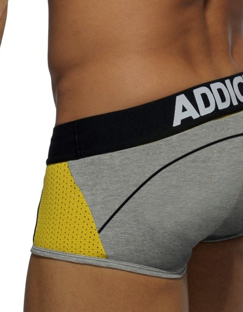 Addicted AD431 Combi Mesh Boxer Heather Grey