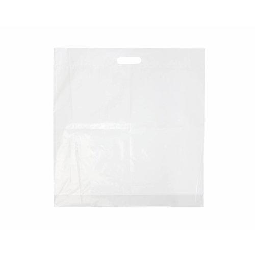 Draagtas 30x 45 cm - HDPE  2 kleuren bedrukt vanaf €0,09 p.st.