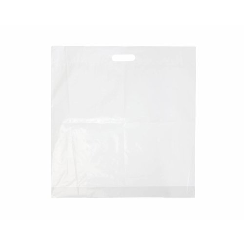 Draagtas 30 x 45 cm - HDPE  1 kleur bedrukt vanaf €0,09 p.st.