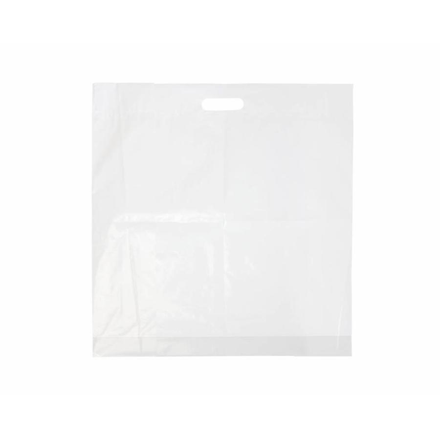 Draagtas 30 x 45 cm - HDPE  1 kleur bedrukt vanaf €0,09 p.st.-1