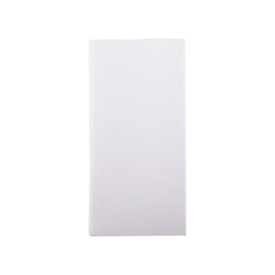 Servetten tweelaags wit - 40x40  -1 kleur bedrukt  vanaf €0,02 p.st.-2
