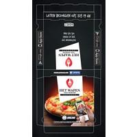 thumb-Pizzadozen Bedrukken Full Color 33x33x4cm-2