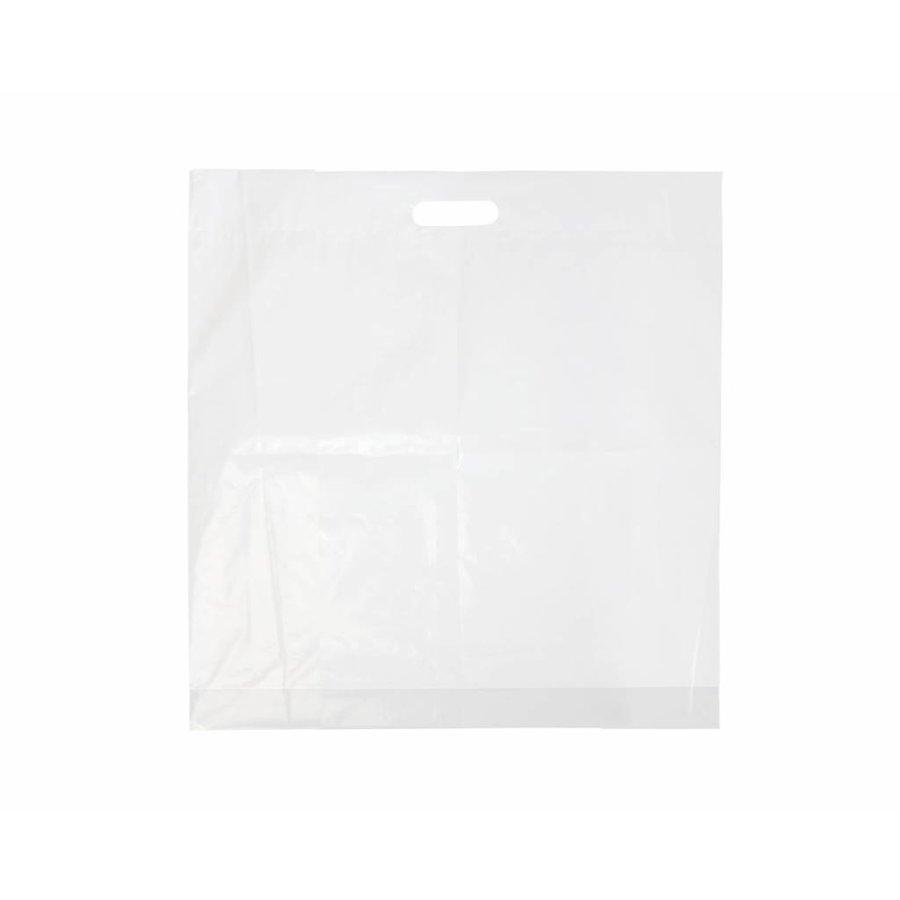 Draagtas 30 x 40 cm - HDPE  1 kleur bedrukt vanaf €0,09 p.st.-1