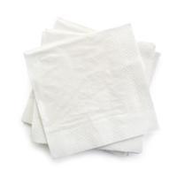 Servetten tweelaags wit - 30x30 -2 kleuren bedrukt vanaf €0,01 p.st.