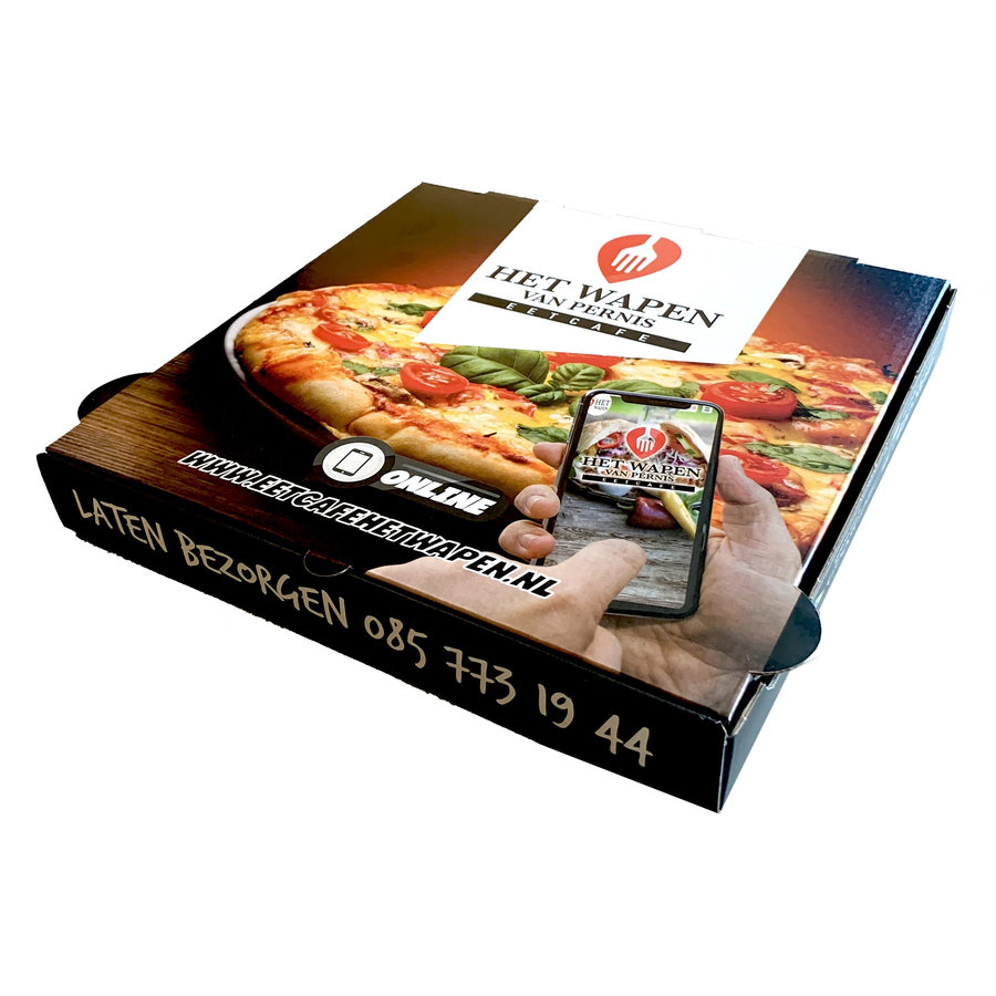 Pizzadozen Bedrukken Full Color 34x34x4cm-1