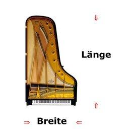 Pianocarpet Flügelcarpet - auf Maß